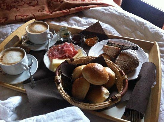Hotel Castel Gandolfo : Colazione in camera