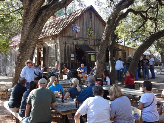 Luckenbach Texas General Store: The Circle