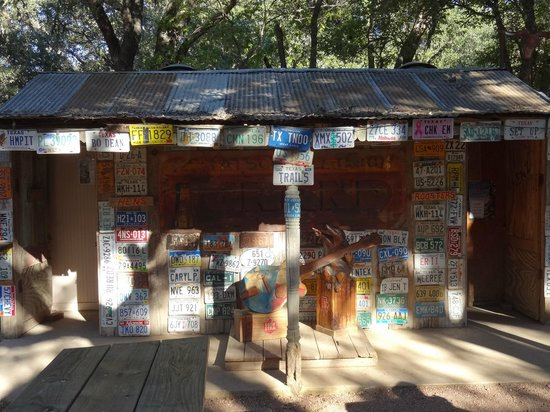 Luckenbach Texas General Store: Outhouse