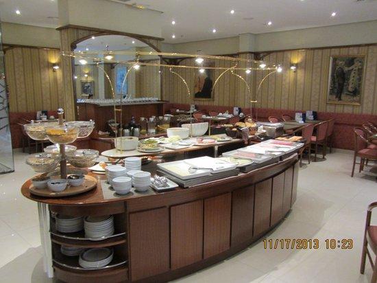 Hotel HCC Regente: Breakfast  room Hotel Regente