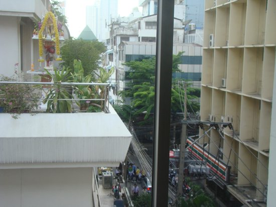 Bangkok Christian Guest House: The View from My Room!