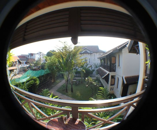 Ansara Hotel: View from Balcony