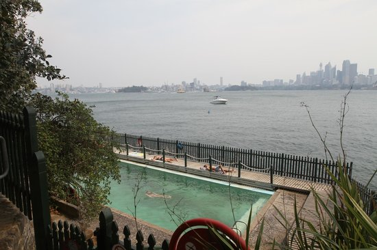 Cremorne Point to Mosman Bay Walk: the view from MacCallum Pool
