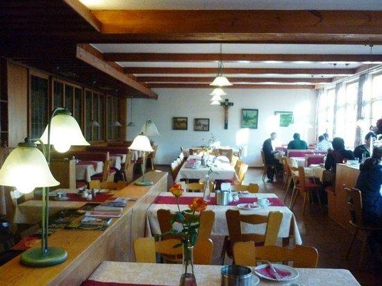 Hotel-Restaurant Buger Hof: Restaurante típico alemão