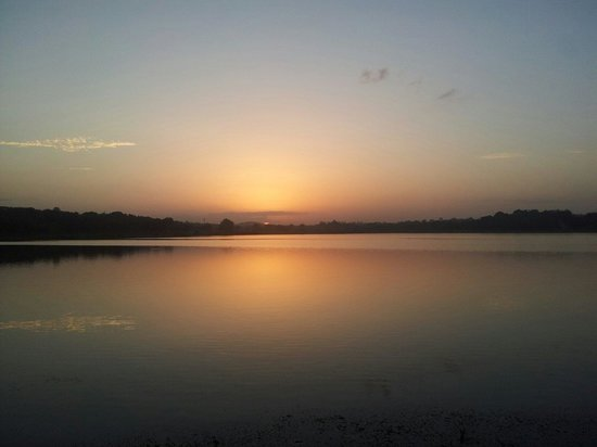 Futala Lake: Sunset