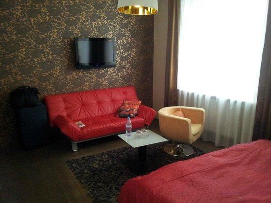Hotel Peregrin: Habitación