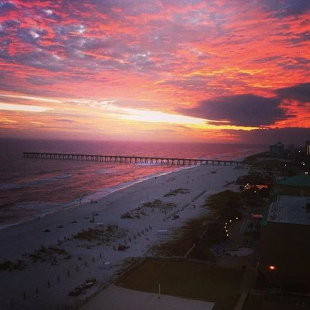 Hilton Pensacola Beach: Room with a view