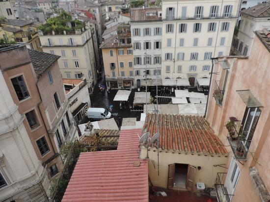 Boutique Hotel Campo de Fiori: A view of the city from the roof top