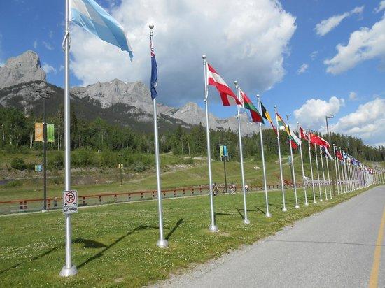 Canmore Nordic Centre Provincial Park: le nordic centre
