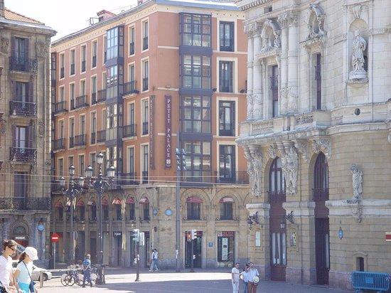 Petit Palace Arana: proprio in centro