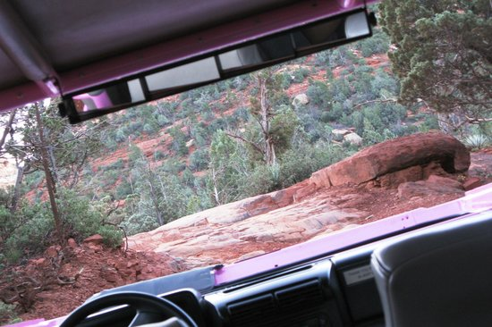 Pink Jeep Tours Sedona: Going Down