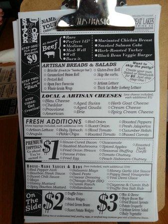 Bar 145: Custom Burger Order Form