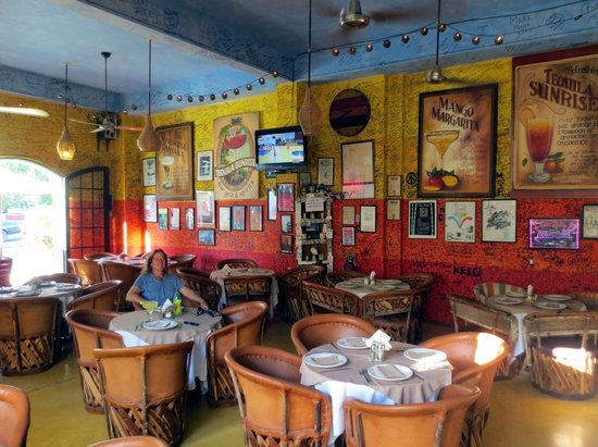 Tequila's Sunrise Bar & Grill: Dining Room