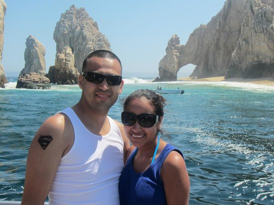 Cabo Submarine : Enjoying the views from the top of the submarine
