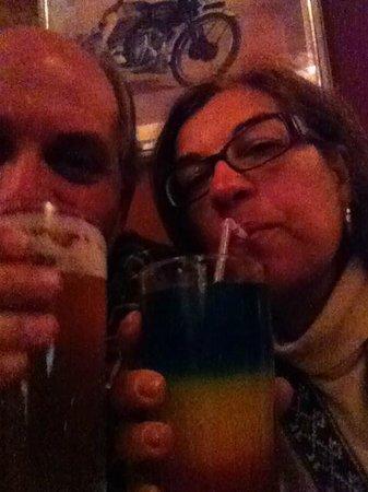 Paddy's Irish Pub: cerveja boa!!!