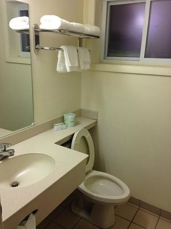 Americas Best Value Inn - Manchester: Bathroom