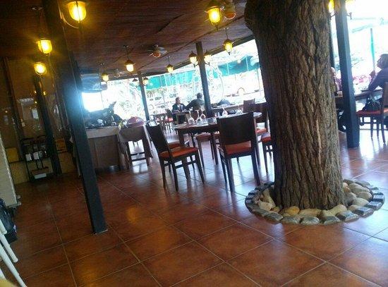 Hotel Las Truchas: Restaurante