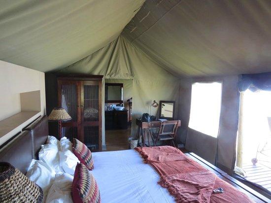 Buffelsdrift Game Lodge: Zelt