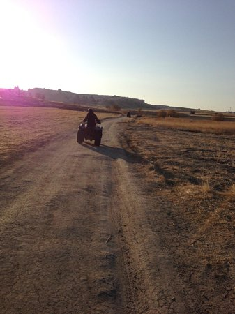 Cappadocia Hitchhiker: Following our guide on the ATV tour