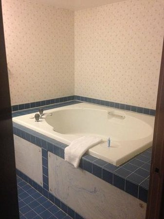 "Howard Johnson Express Inn - Blackwood: ""Spa"" - not really - but a huge bathtub"