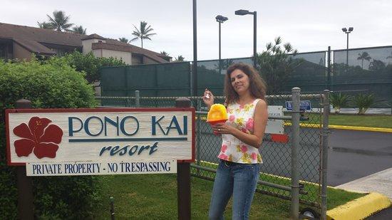Pono Kai Resort: Ono Shaved ice yum!