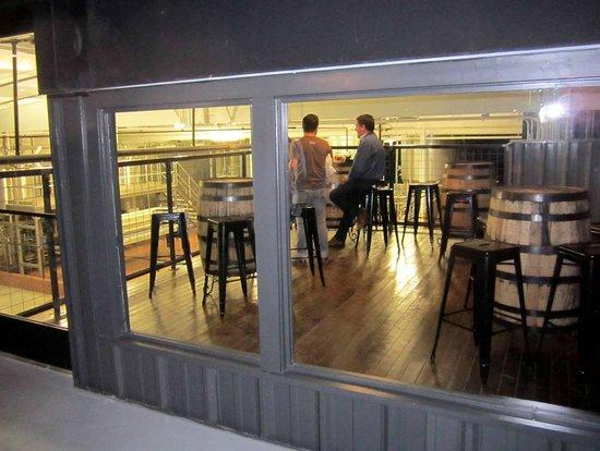 Tennessee Brew Works: 'Indoor Balcony' overlooking brew works