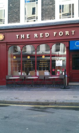 The Red Fort : Still our favourite Soho Curry shed.