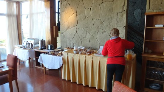 Terrazas del Calafate Hotel: Desayuno