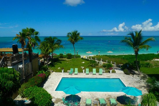 Partial Ocean View From Room Picture Of Coral Gardens On Grace Bay Providenciales Tripadvisor