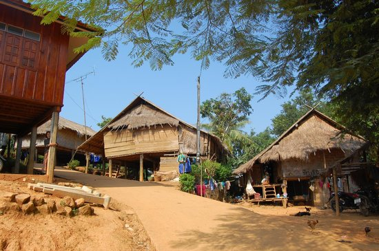 Lanjia Lodge : The Lahu village