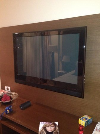 Pepperclub Hotel & Spa : Large tv