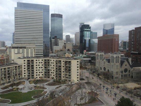 Hyatt Regency Minneapolis : Beautiful view from our 12th floor room!