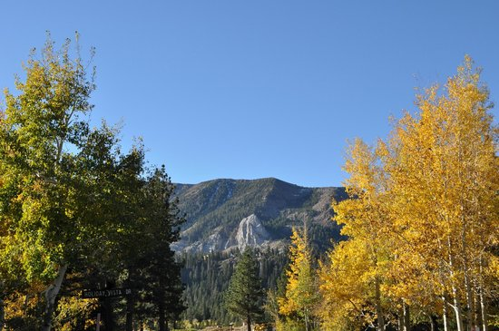 Summit Condominiums: Mammoth Rock, a local landmark