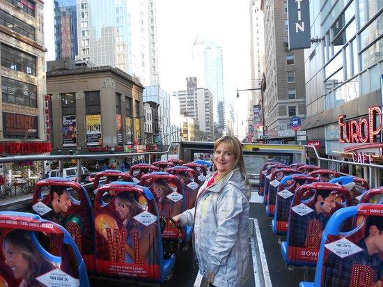City Sightseeing New York Hop On - Hop Off : gran line
