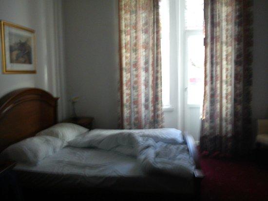 Grand Hotel Bellevue: vista camera