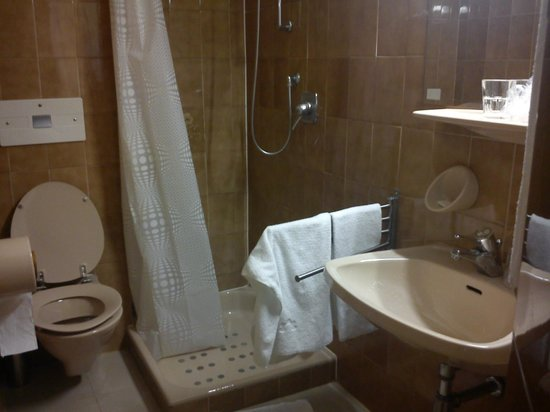 Grand Hotel Bellevue: vista bagno