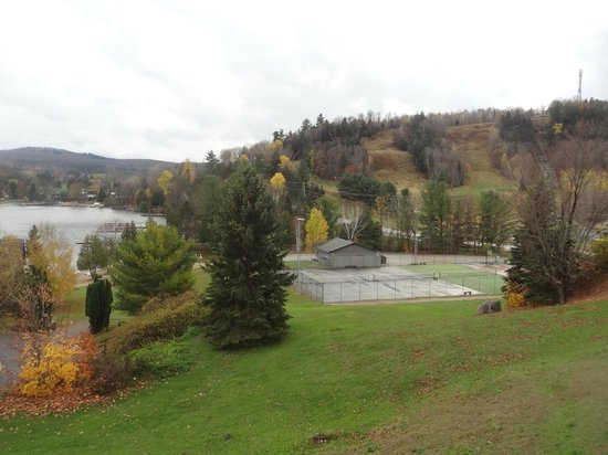 The Birches Restaurant: View from the Bistro deck