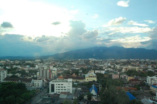 Le Meridien Chiang Mai : View from our suite