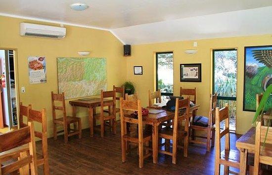 Mountain House YHA: küche