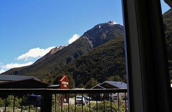Mountain House YHA: wohnraumaussicht 1.Etage