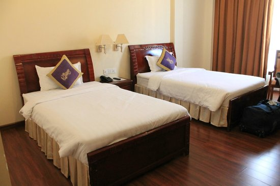 Starry Angkor Hotel: bedroom