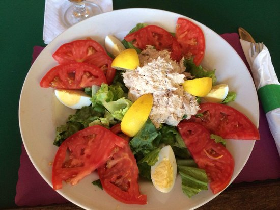 Jeremiah's: Tuna Salad platter, the special on Fridays.