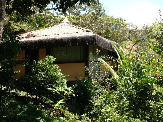 Hotel Alizees Morere: VISTA DO BANGALÔ