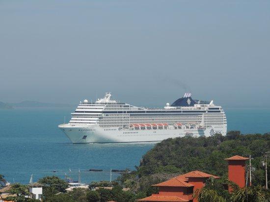 Hotel Pousada e Spa Villa Mercedes : salir al balcon por la mañana y encontrarse con eta vista, IMPAGABLE!!