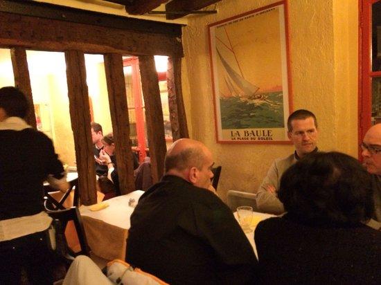 Le carre aux Crepes: Ужин в ресторане осенью 2013.