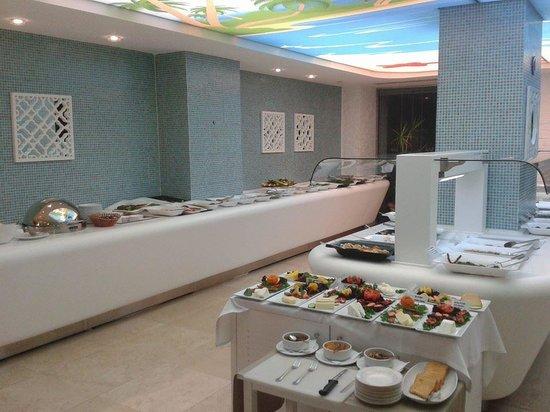 Hotel Marbella: fod area