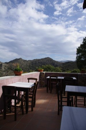 Milia Mountain Retreat : View from the restaurant