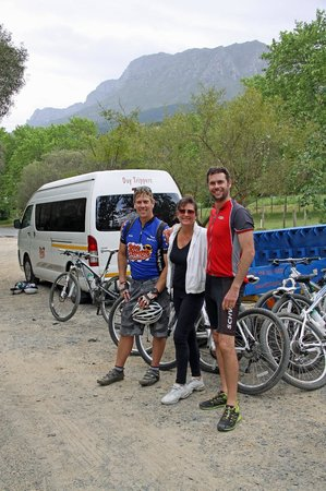 The Cape Town Tour Guide Co.: Mountain Biking with Clive