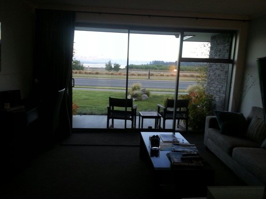 Lakeview Tekapo: View from lounge room