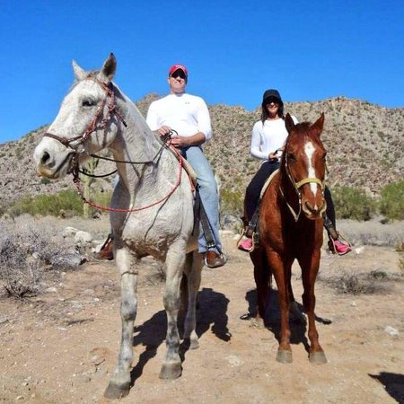 White Tanks Riding Stables: Our horses Scout and Grave Digger were a perfect fit for us!!